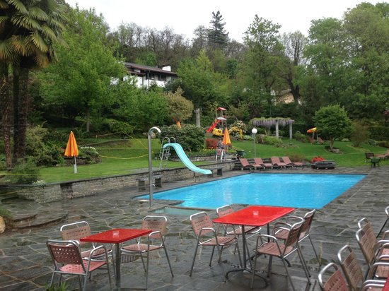 Auberge de jeunesse Lugano Savosa : Pool