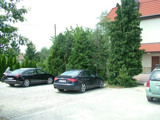 Hotel Pension Helios : Enclosed parking place