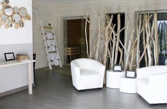 Hotel A Piattatella: Spa (hammam - sauna - jacuzzi - fauteuil massant)