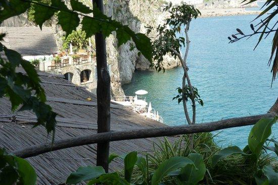 Santa Caterina Hotel: La plage la mer