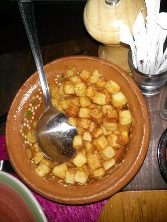 Chimichangos: Crispy potatoes