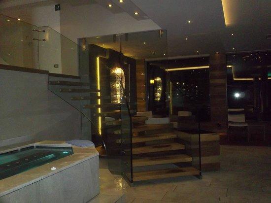 Hotel Aaritz: scala del centro benessere