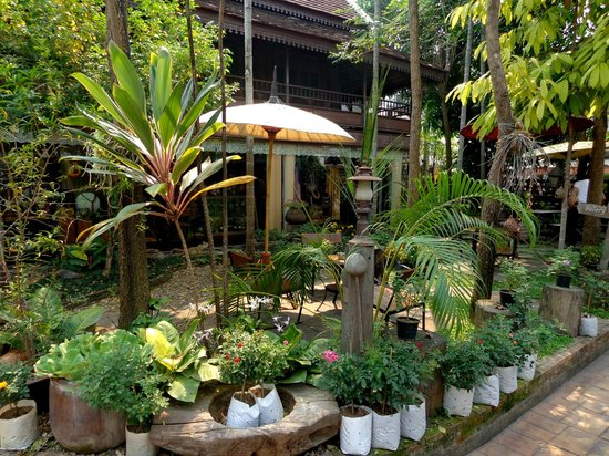 Pha-Thai House : shop and garden