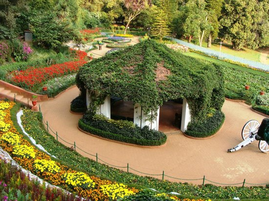 Italian job garden at ooty picture of botanical gardens for Botanical garden timing