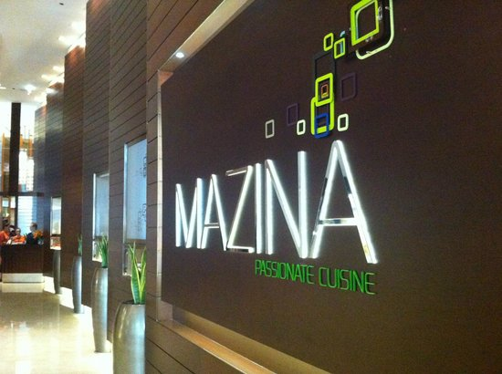 The Address Dubai Marina: mazina resturant