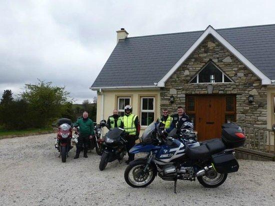 Millstone Cottages: bikers paradise