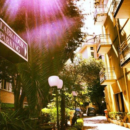 Hotel Labrador: parcheggio