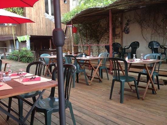 Le Pha : La terrasse extérieur