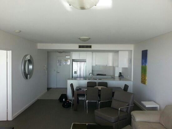 Kirra Beach Apartments: a view from the balcony