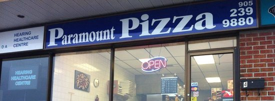 Paramount Pizza & Pasta