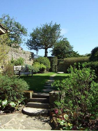 Bodysgallen Hall & Spa: Cottage garden