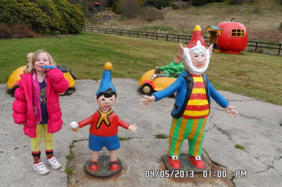 Storybook Glen: kids love noddy, lots of cars to drive too