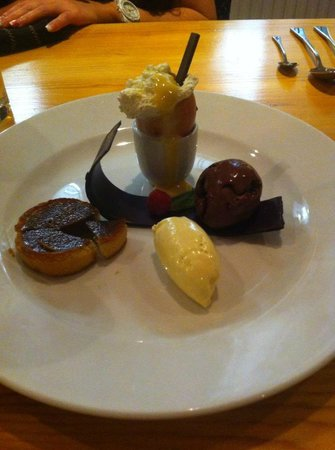 Pant-Y-Gwydr: Chocolate dessert