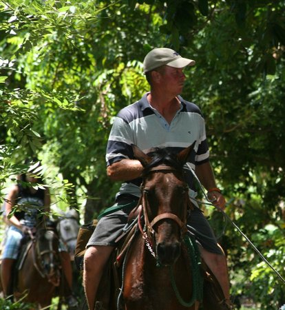 Utila, Honduras: Sterlin, The trail guide