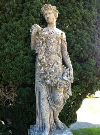 Killruddery House & Gardens: one of many statues of interest in Kilruddery garden.