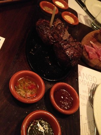 Tango Argentinian Steakhouse: Gaucho Platter (for 2)