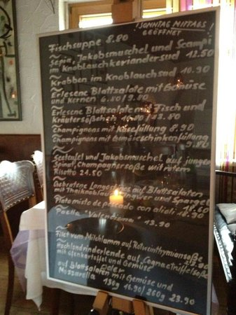Casa Andalusia: The daily specials
