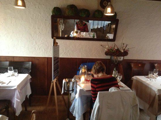 Casa Andalusia: The rest of the dining area