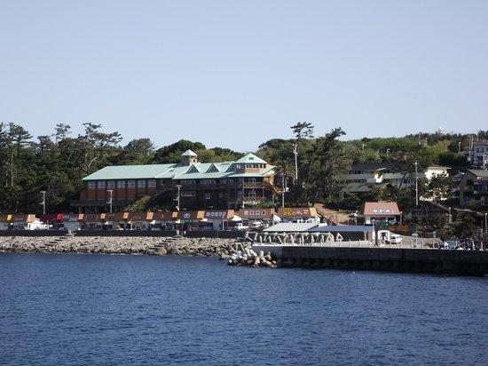 Atami, Japón: 初島港界隈