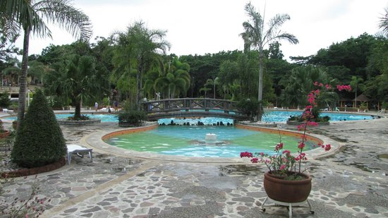 Momarco Resort: the pool with fountain