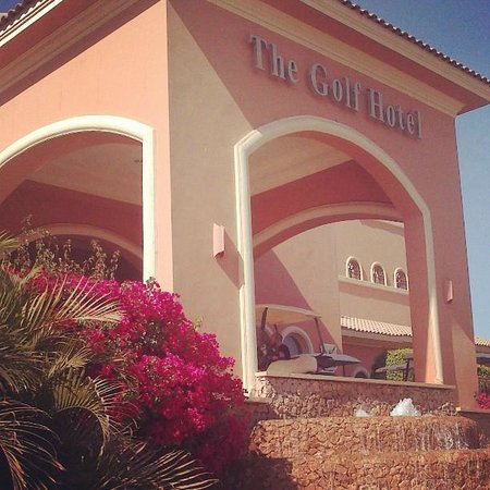 Stella Di Mare Golf Hotel, Ain Sukhna: Hotel entrance