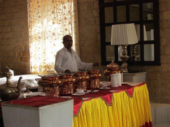 Himmatgarh Palace : Fine dining hall