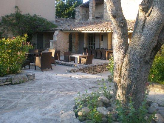 Hostellerie le Roy Soleil : Terrasse Restaurant