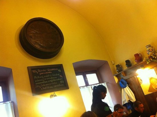 Muzeum Senk Na Parkanu Pub: Interior