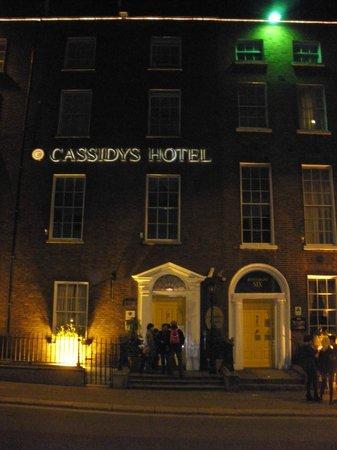 Cassidys Hotel: Fachada del hotel