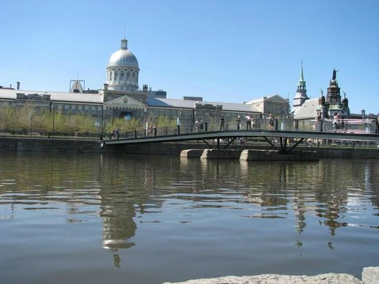 Old Port of Montreal: Marche Bonsecours- Montreal