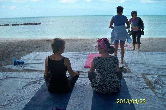 Yoga on the Beach Key West 4-13
