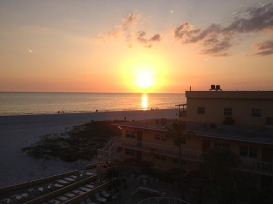 Crimson on the Gulf : view from balcony unit 303