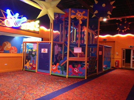 Fleetwood, UK: Soft play area at Cala Gran Holiday Park