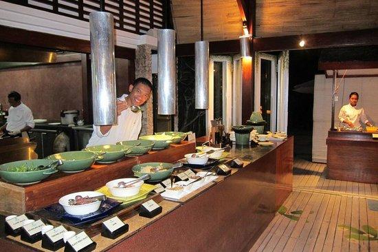 Wakatobi Dive Resort: Chef Andy and his delish creations