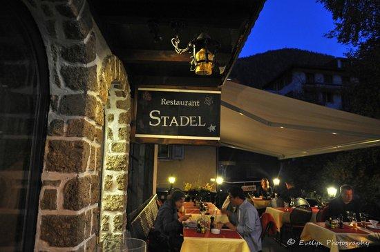 Restaurant Stadel: Restaurant front
