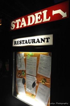 Restaurant Stadel: Signboard of Stadel