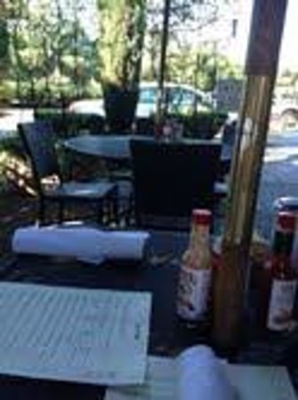 Crepevine: The Cafe patio
