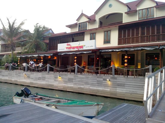 The Maharajas: VIEW FROM MARINA SIDE