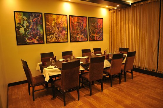 Moti Mahal Delux: Private Dining Room
