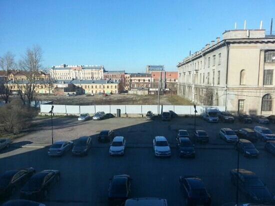 Neptun Hotel: view from third floor