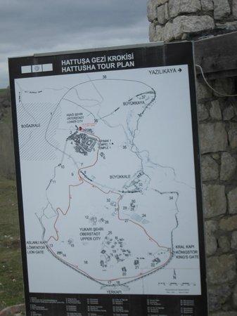 Baskent Demiralan Hotel : Baskent Restaurant・・・ハットウシャ地図