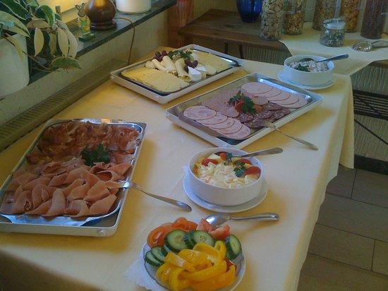 Landgasthof Reinhold: Frühstück