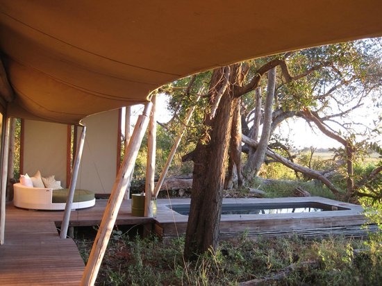 andBeyond Xaranna Okavango Delta Camp: View from Tent 6