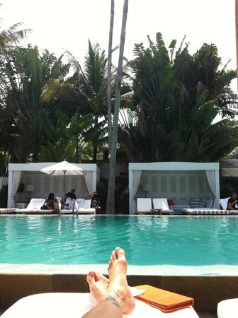 Delano South Beach Hotel: relaxed