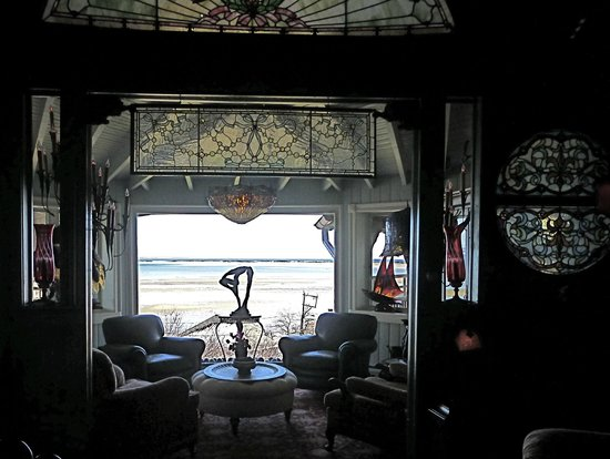 Land's End Inn: view from the front living room area...spectacular