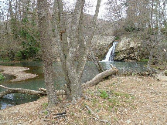 Laghetto e cascata foto di parco della mola oriolo for Cascata per laghetto