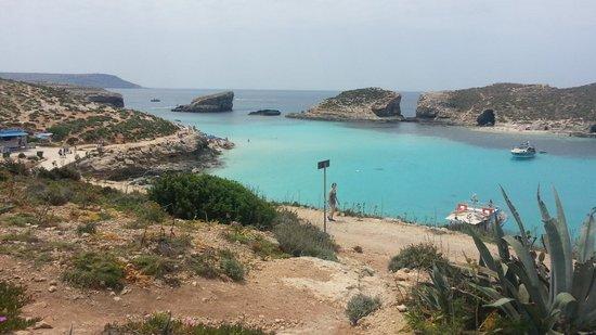 LABRANDA Riviera Premium Resort & Spa: Blue lagoon a comino