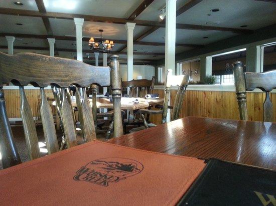 Whiskey Creek Restaurant : Menu