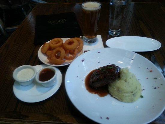 Whiskey Creek Restaurant: Dinner Plate