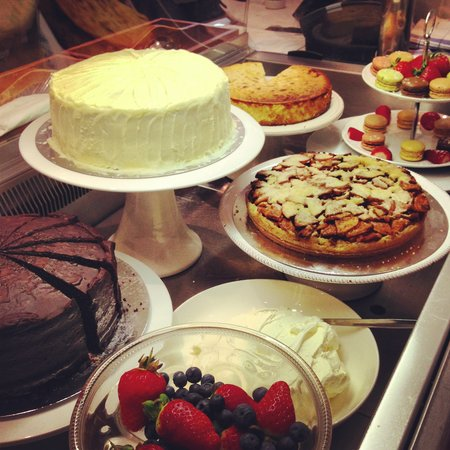The Sage Cafe: Selection of desserts & macaroons